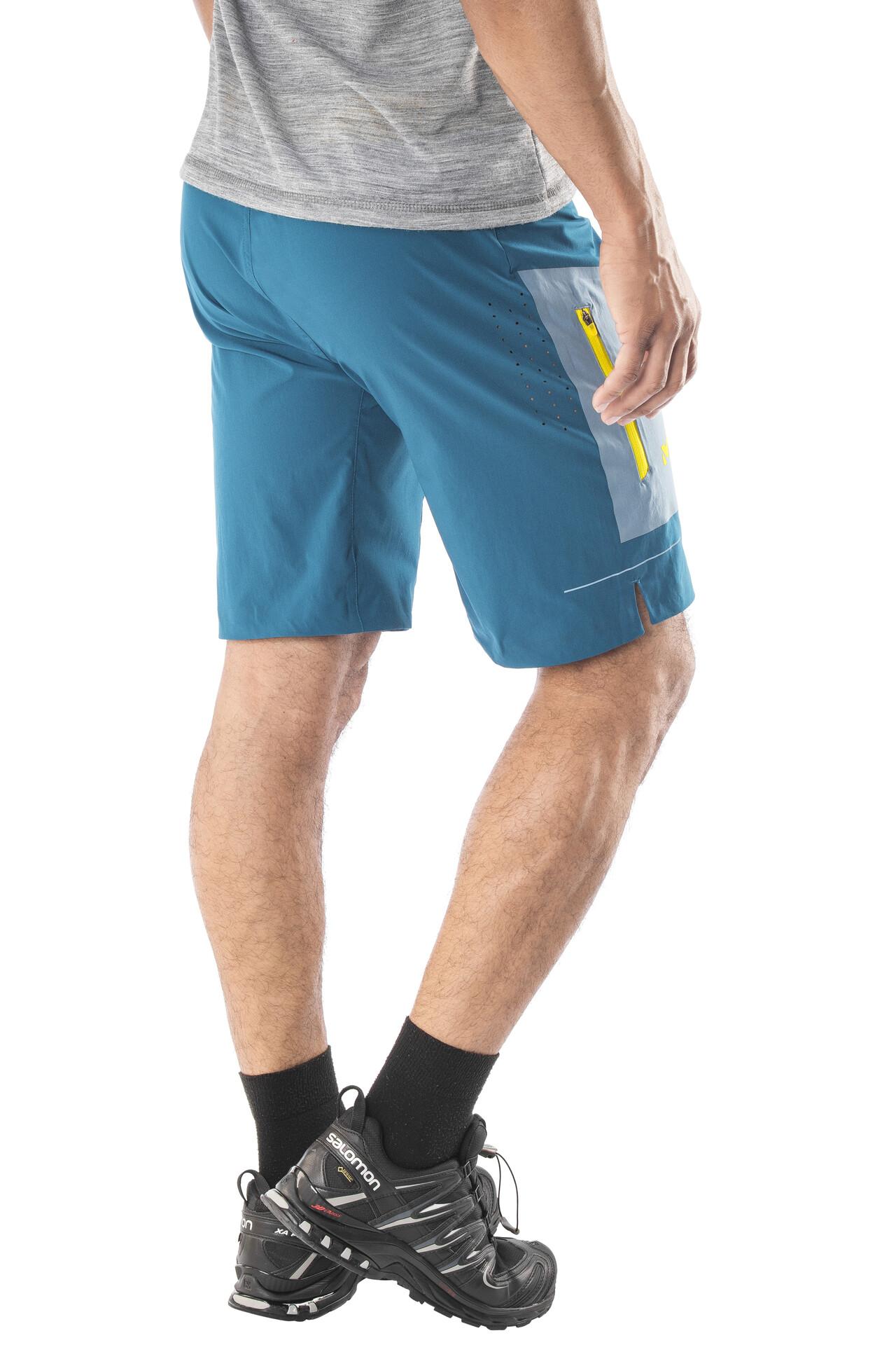fac8f3eeff703 Millet speed pantalones cortos hombre amarillo azul jpg 3840x5760 Pantalones  cortos de hombre